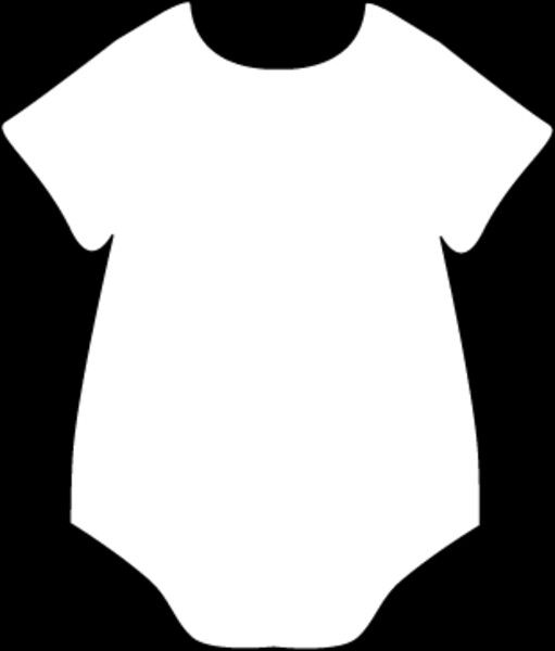 stencil for paper onsie baby shower in 2018 pinterest baby