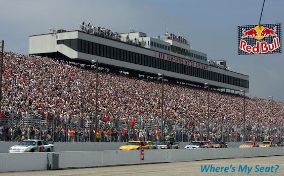 Home Where S My Seat New Hampshire Loudon Nascar Racing