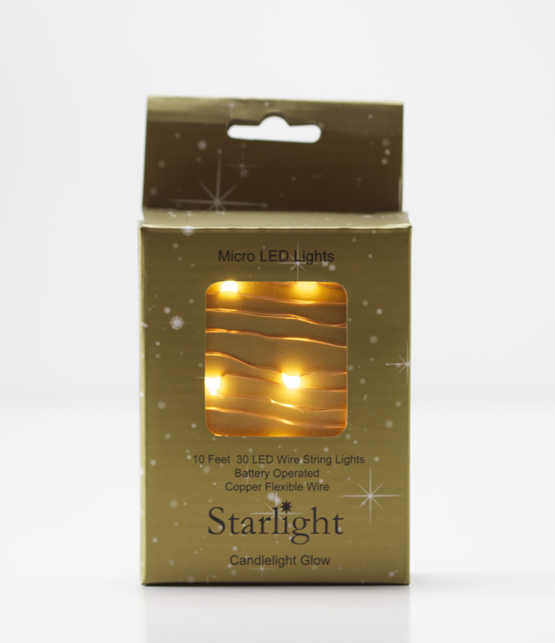 Candlelight Glow LED Lights on Copper Wire | Copper wire, Battery ...