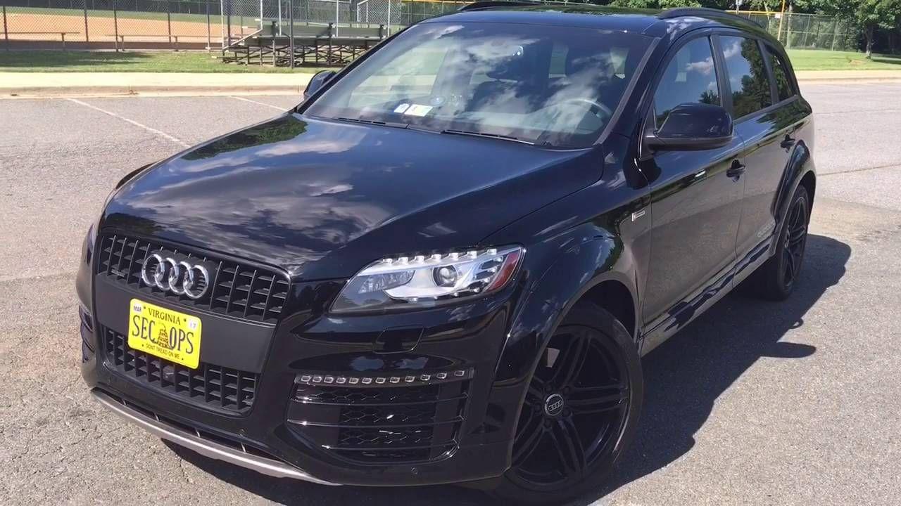 2015 Q7 2015 Sports Edition 3 0t Quattro Audi Q7 Black Audi Q7 Tdi Audi Q7 2015