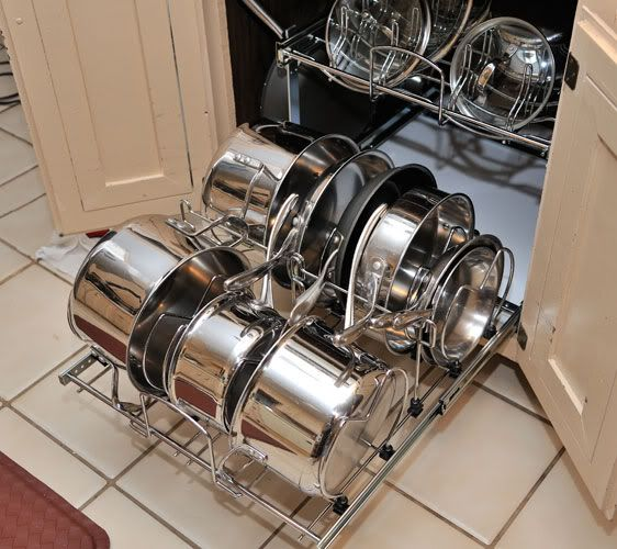 Kitchen Drawers For Pots And Pans pots/pans pullout storage - rev a shelf opinions? - kitchens forum