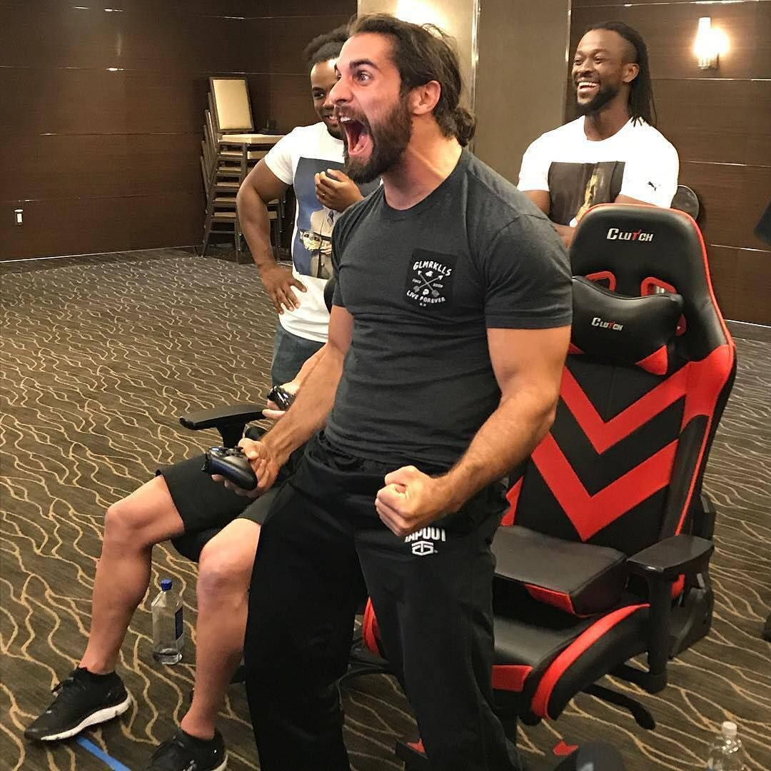 That moment when u play as yourself on #wwe2k18 doin the