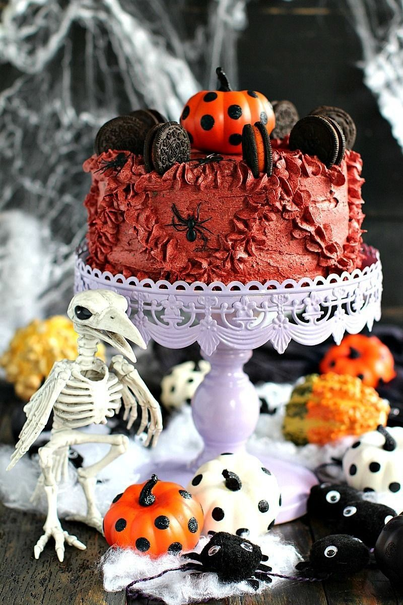 pumpkin oreo cake Halloween pumpkin oreo cake  17 Cosas que solo entenderá la gente que ama el mes de octubre 7d9bddc673aa8d57cf38459566908608 Monster Eyeball Cake...