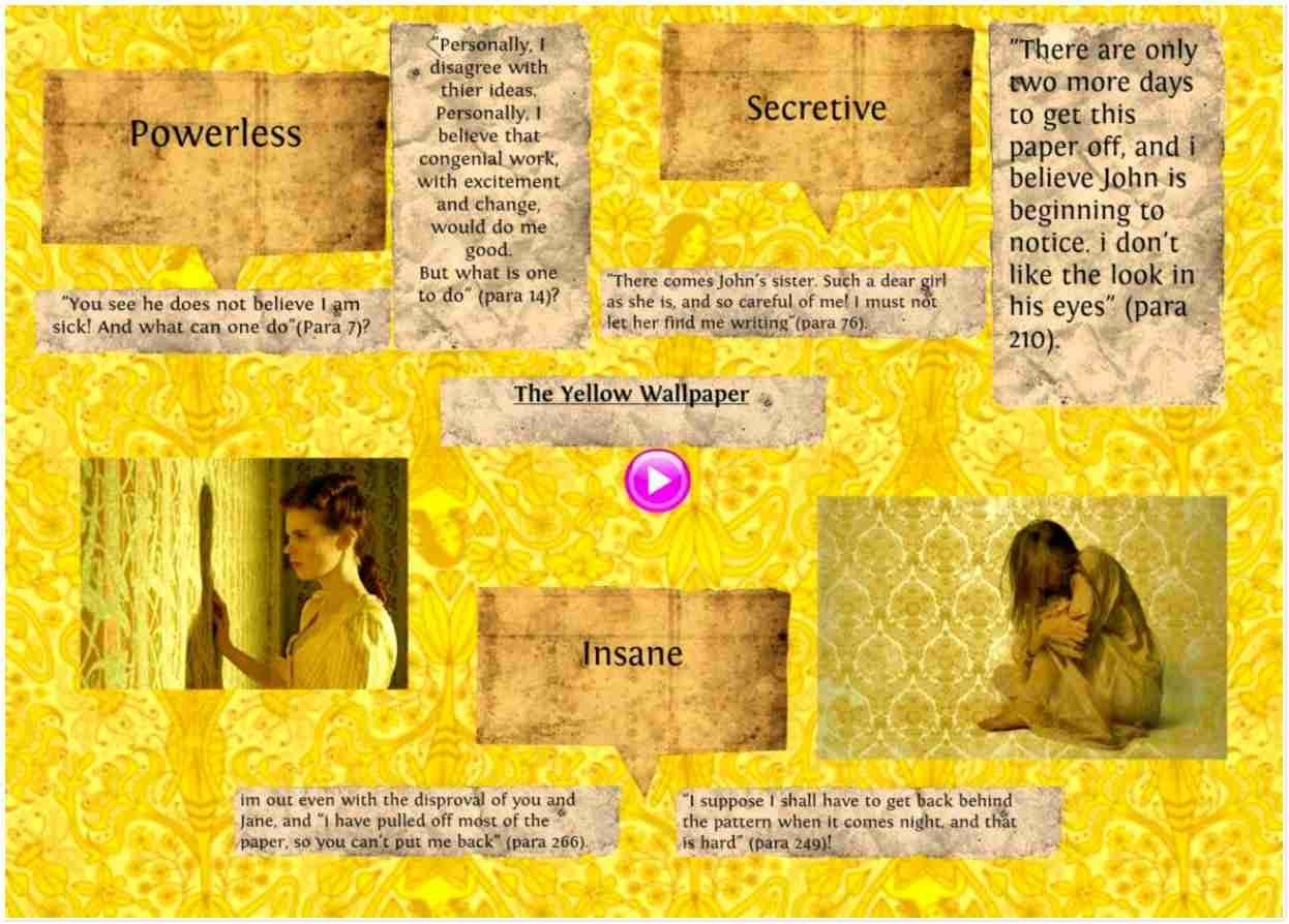 Latest 16 The Yellow Analysis Wallpapers Yellow Wallpaper Book Wallpaper Best Book Covers