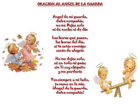 Ángel de la Guarda | Oraciones | Pinterest | Angel de la guarda ...