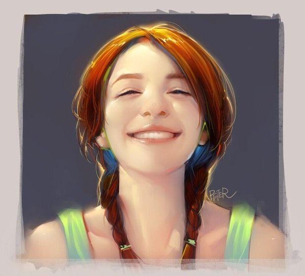 Awesome Digital Portraits by Xiao Ji