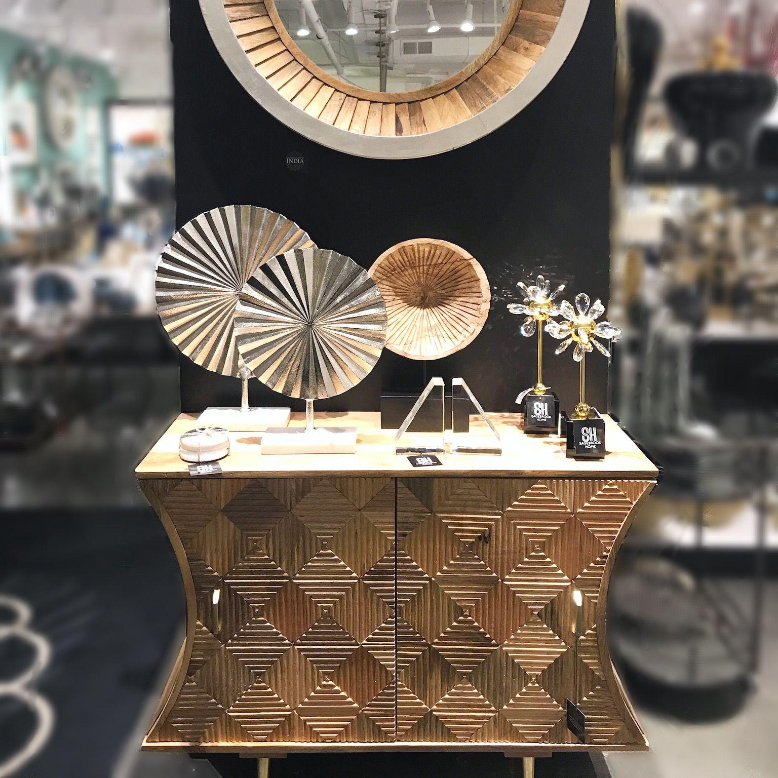 Atlanta Showroom, January 2018 wood cabinet, metal ...