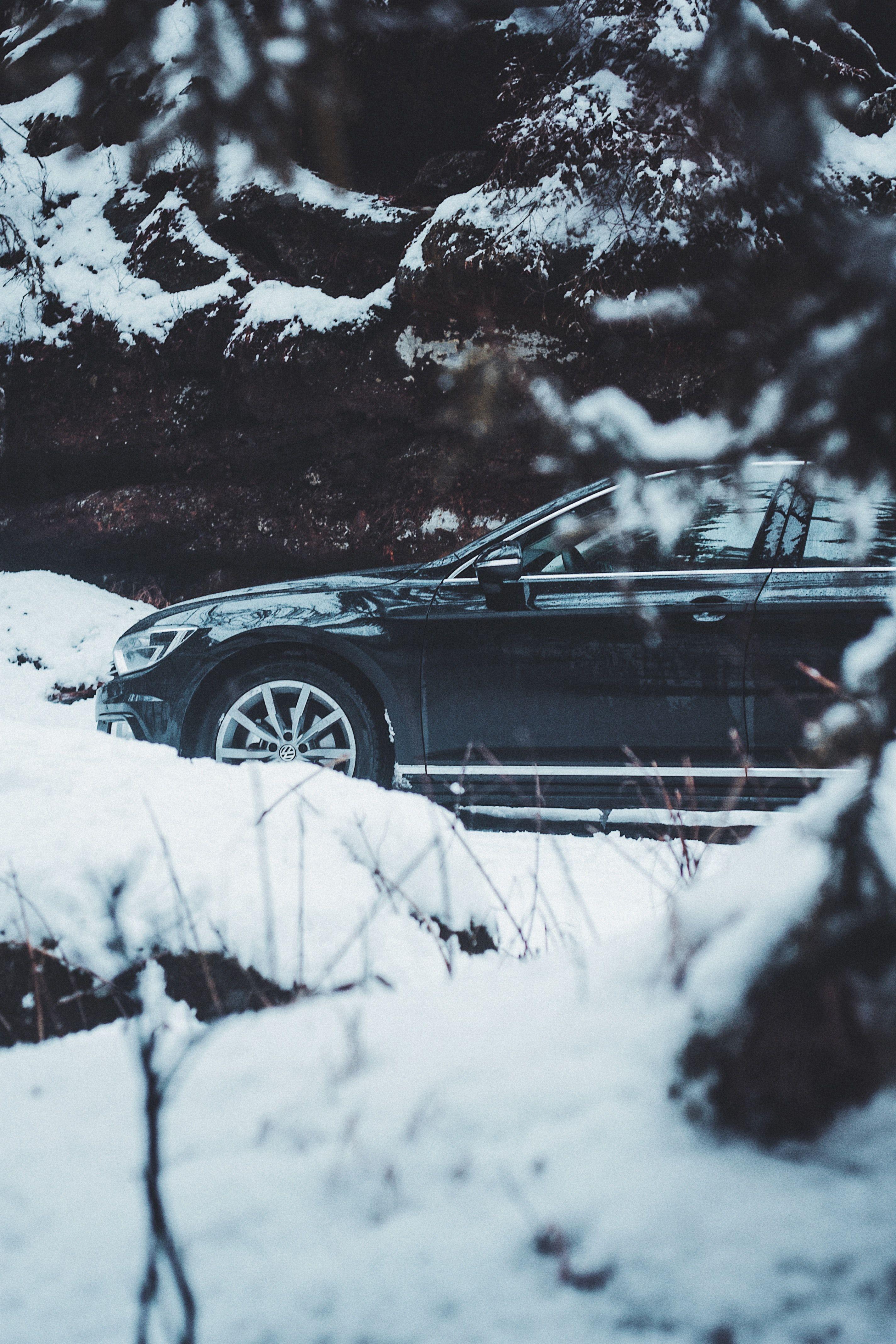 Volkswagen passat winter roadtrip