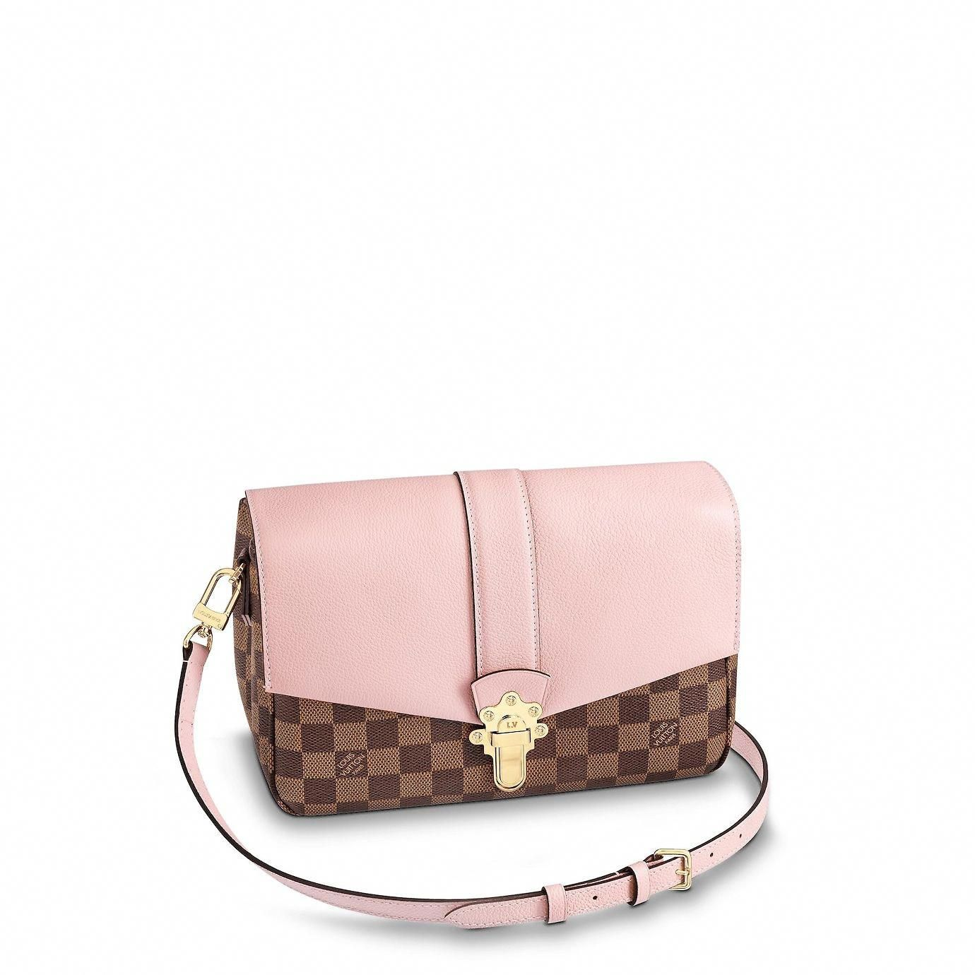3f36cd983d34 View 1 - Women - Clapton Damier Ebene Canvas Women Handbags Cross Body Bags
