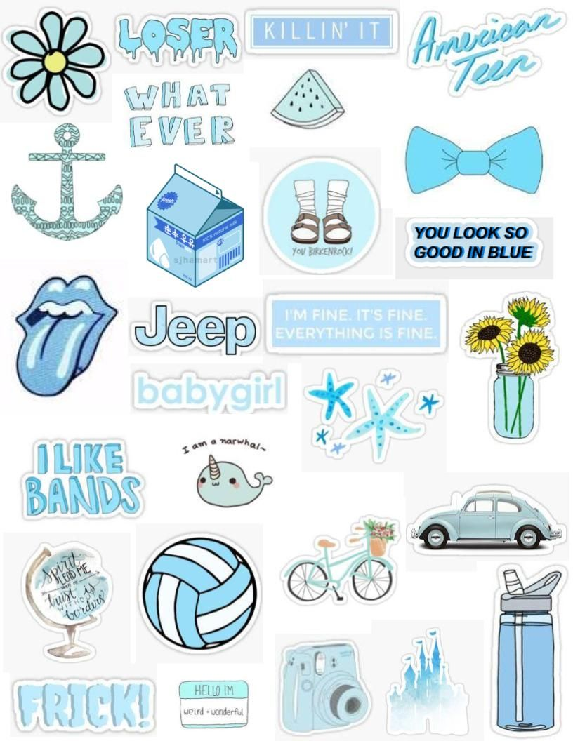 Stickers Printable Aesthetic