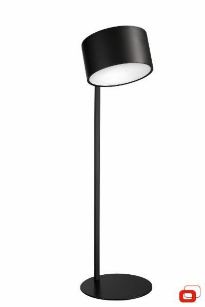 Lirio Balanza floor lamp Black