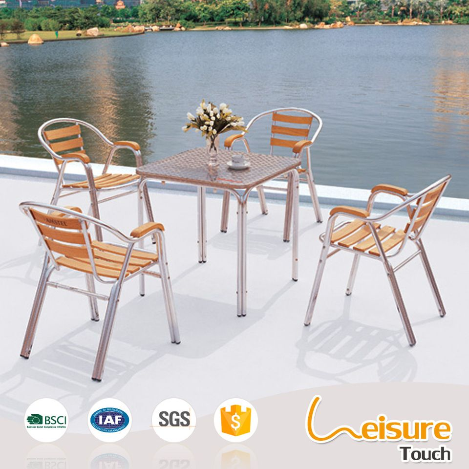 Patio chair outdoor furniture wood dining chair patio furniture - Specialized Suppliers Comfortable Plastic Wood Aluminum Patio Chair Outdoor Furniture Buy Aluminum Patio Chair Plastic Wood Chair Patio Furniture Product