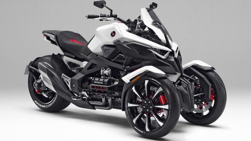 The Honda Neowing Is A Future Retro GoldWing Trike