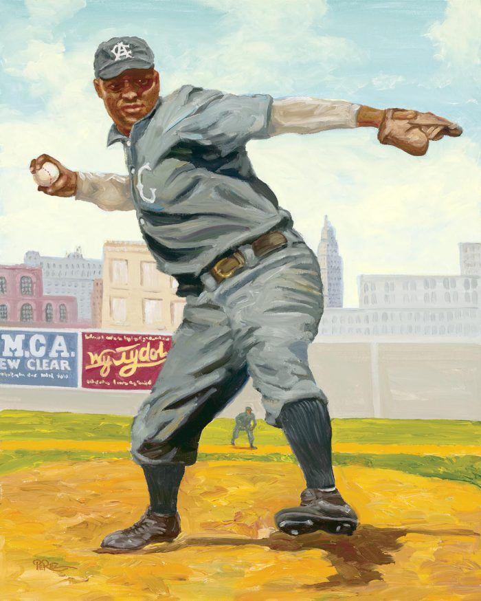 Rube Foster By Dick Perez Dick Perez Baseball Art