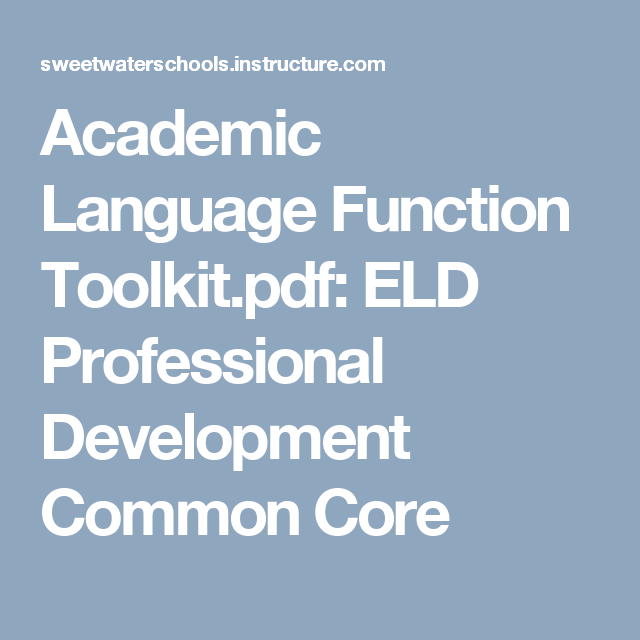 functions of english language pdf