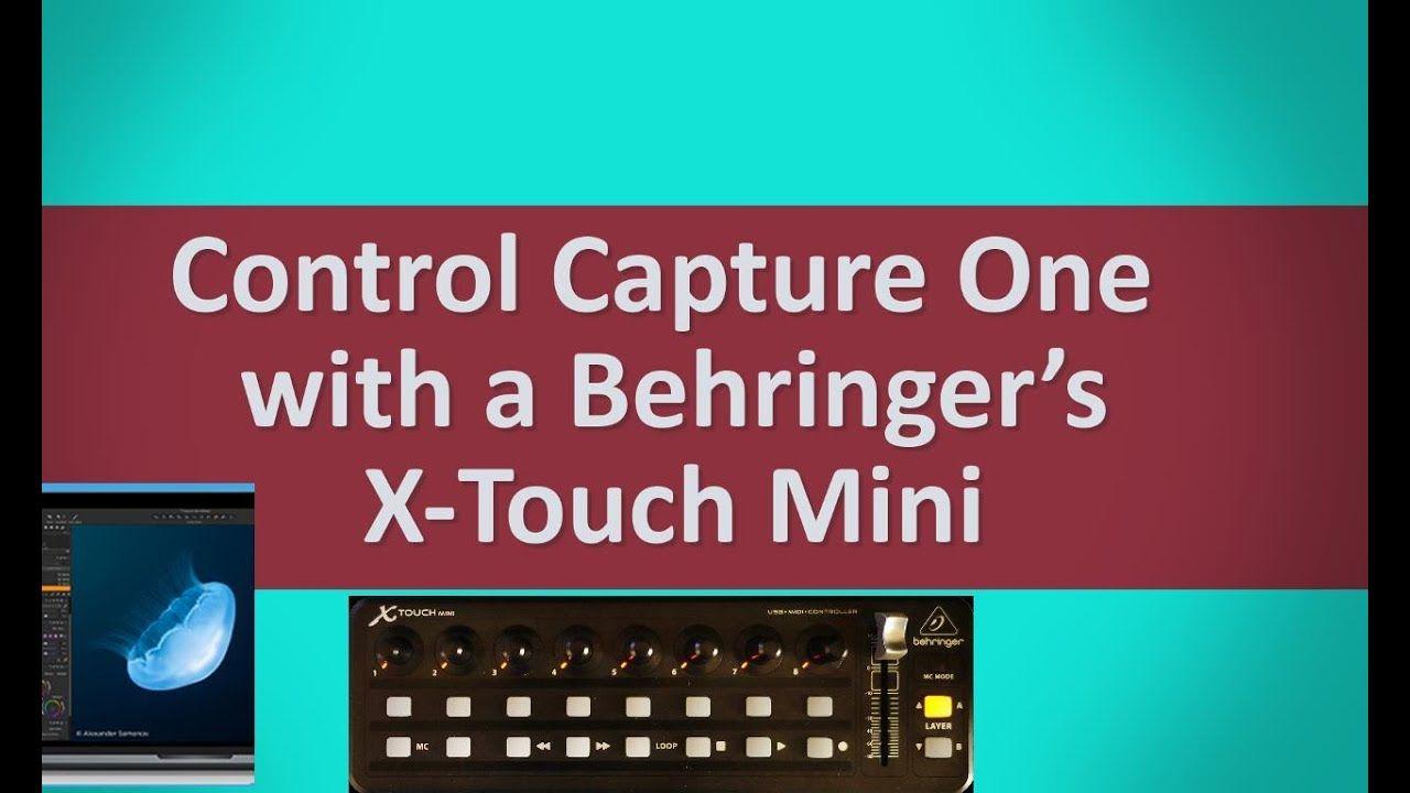 Behringer x-touch mini lightroom