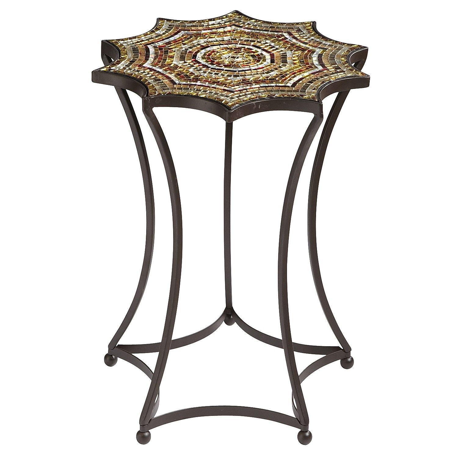 Starburst Mosaic Accent Table Pier 1 Imports Mosaic Accent