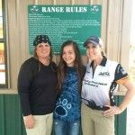 3 ladies were competing among the 48 shooters- Melissa Gilliland is awesome!