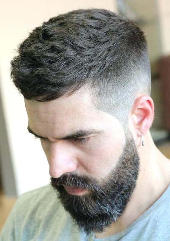 Beard Hairstyles For Men 2018 Cortes Actuales Peinado Cabello Corto Hombre Cabello De Chico Y Color De Pelo Hombre