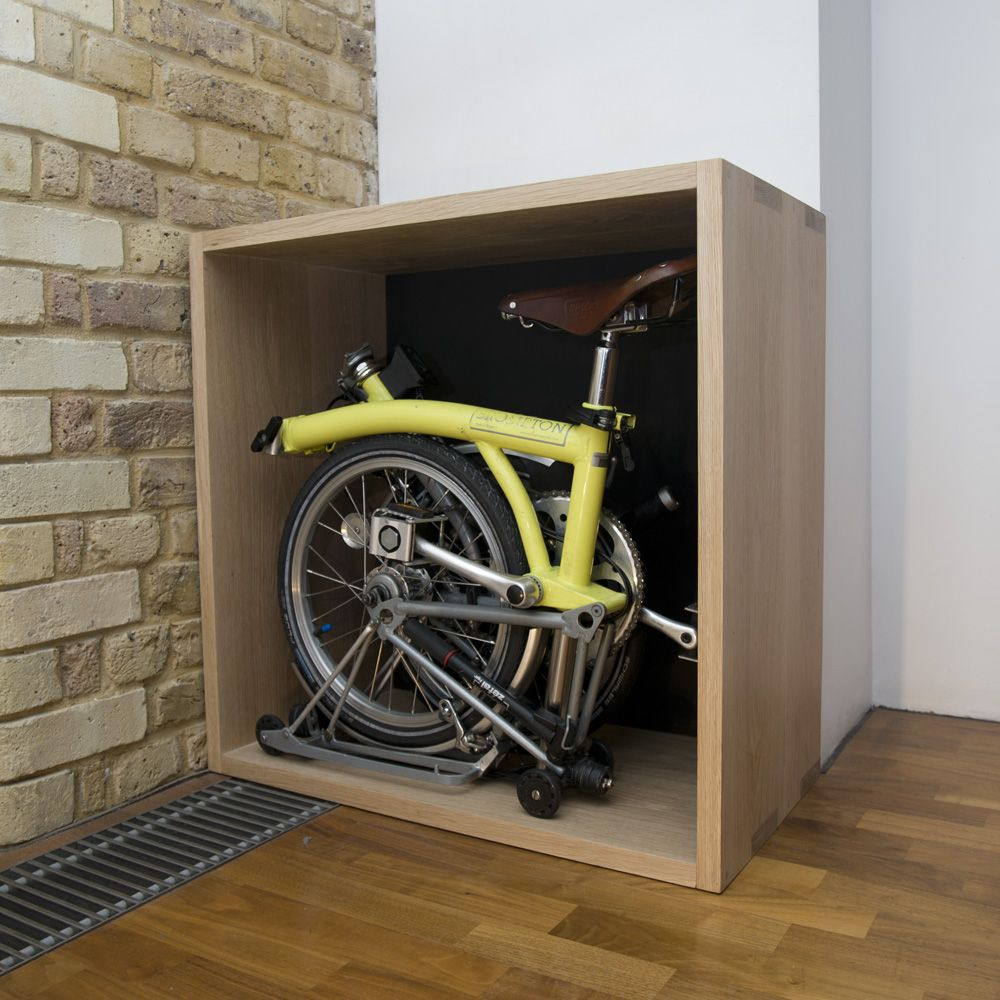 Furniture That Stores Hides A Folding Bike I E Brompton