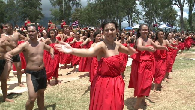 Hula halau hold summer solstice ceremonies, offer support to Mauna Kea