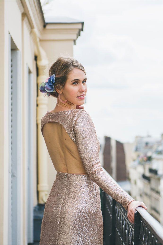 "Shooting d'inspiration mariage ""Pantone 2016"" | Photographe : Blondie Confettis | Donne-moi ta main - Blog mariage"