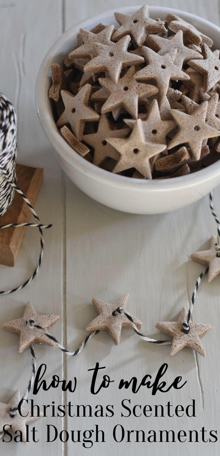 DIY Christmas Scented Salt Dough Ornament Crafts -   15 christmas crafts ideas