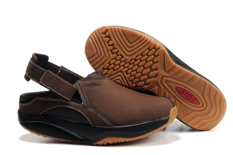 f4123cb0831c MBT Men s Unono Clog - Chocolate Leather