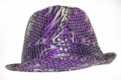 e1c0c8f4aa4 purple sequined fedora