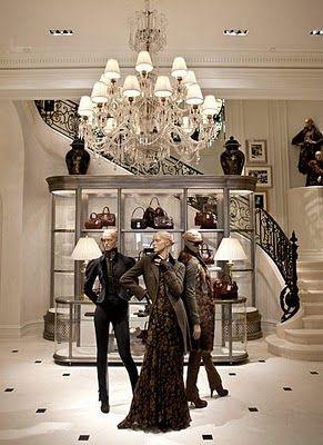 Ralph Lauren store - Fine Living - Traditional Style - Ralph Lauren