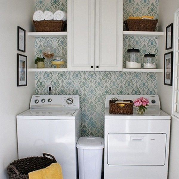 Marvelous Small Laundry Room Ideas | Laundry Room Design With Small Space Solutions  20 Laundry