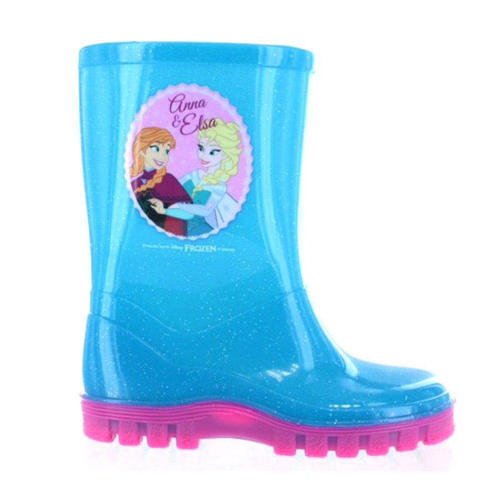 Disney Frozen Blue Elsa Anna Childrens Wellies UK 12 Kids Officially  Licensed Product Featured