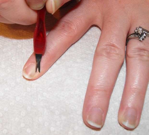 How to Wrap Your Nails, and Do a French Manicure. | Manicure, Nail ...