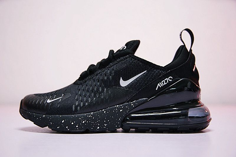 b67e370a4a12d Nike Air Max 270 All Black AH8050 202 2018 New Arrival