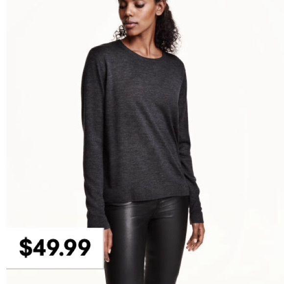 NWOT H&M Merino Wool Sweater