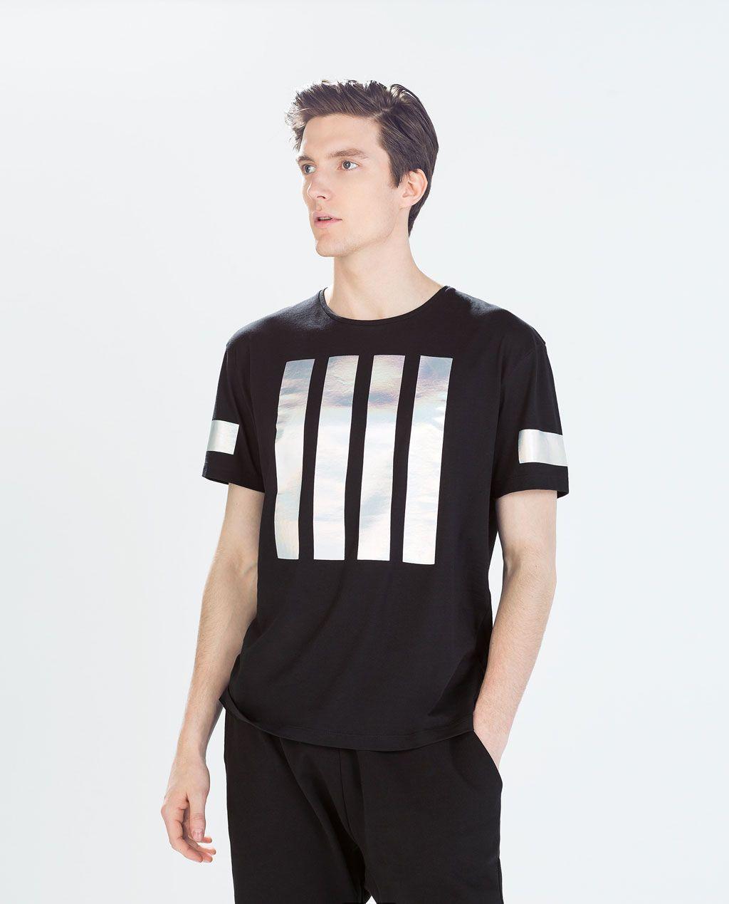 7a4ce0141 ZARA - HOMBRE - CAMISETA MANGA CORTA | R O P A en 2019 | Camiseta ...