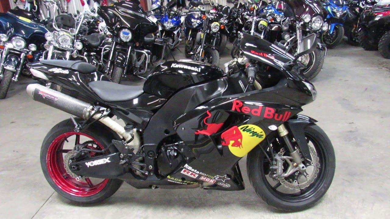 Used 2006 Kawasaki Ninja ZX10R for sale in Michigan U4301