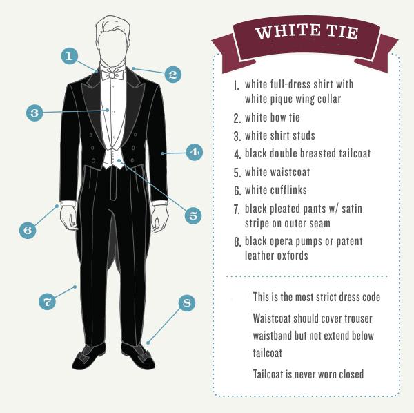 White Tie White Tie Dress White Tie Dress Code White Tie Event
