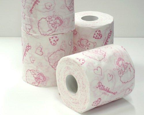 Rilakkuma Toilet Paper (6 Pack, 24 Rolls)