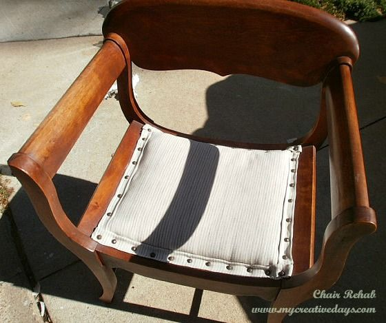 No Sew Chair Seat Recover