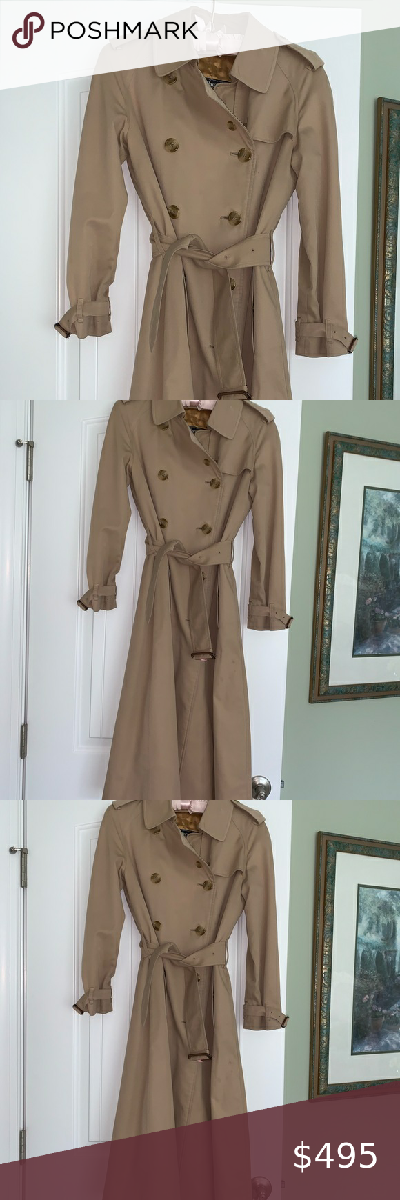 Burberry Trench Vintage In 2020 Burberry Trench Colorful Coat Clothes Design