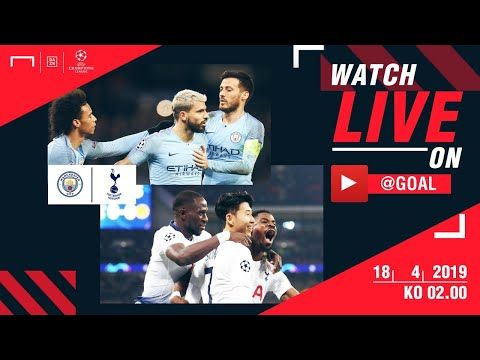 LIVE - Manchester City vs Tottenham Hotspur - UEFA ...