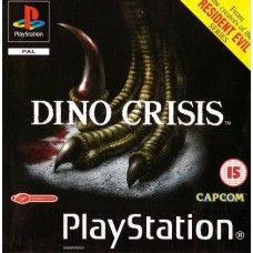 Dino Crisis Pal For Sony Playstation 1 Ps1 Psx From Capcom Sles