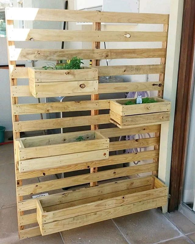 Creative Use For Wood Pallet Projects Pallets Garden Wooden