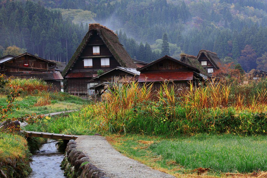 Shirakawago village in Kyoto, Japan   House styles, Home ...