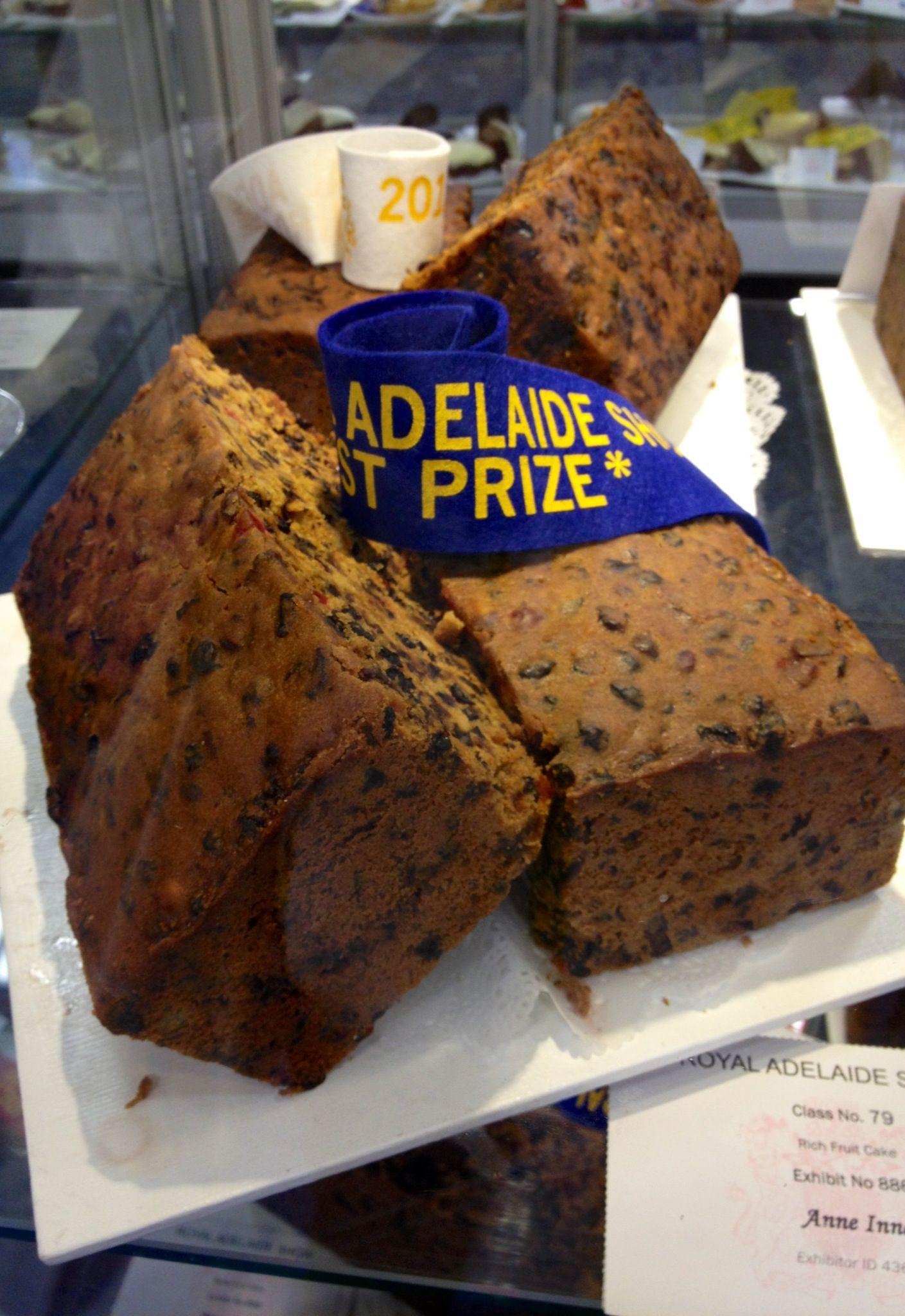 First prize winning rich dark fruit cake • The Royal