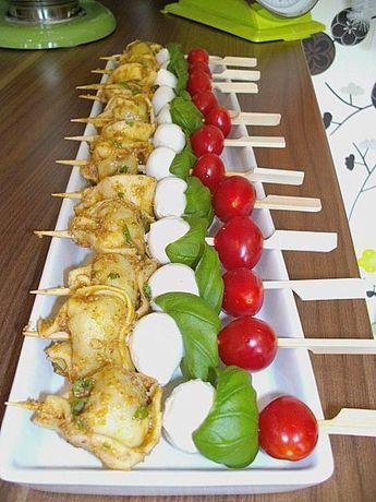 Tortellini - Spießchen #buffet