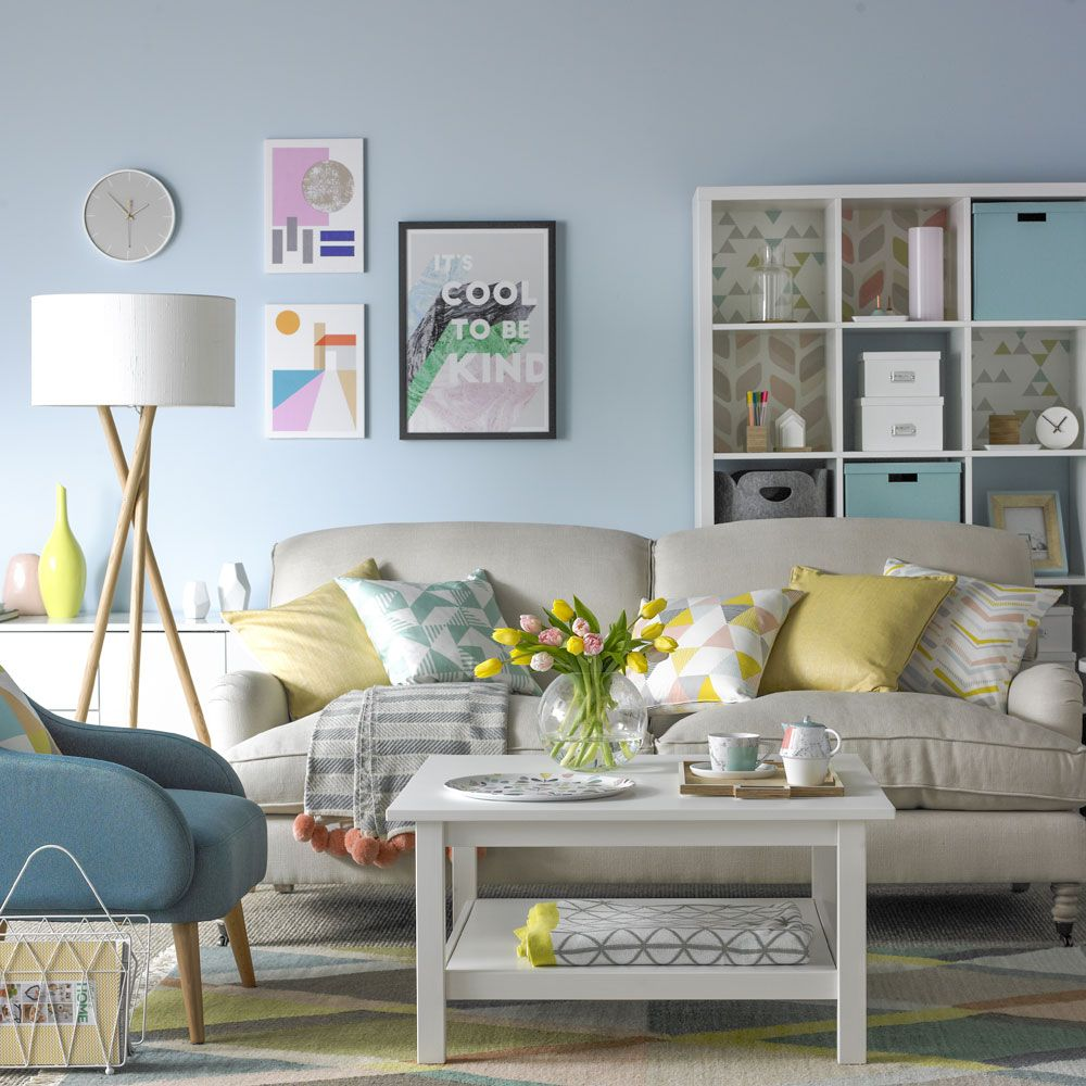 Ideal Home Living Room One Living Room Three Ways How To Create On Trend Styles For Your
