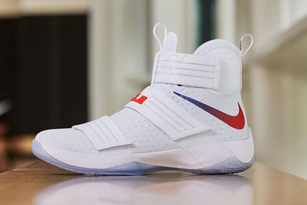 new styles cf1d7 bc2ca Nike Zoom LeBron Soldier 10 Comes in Two New PE Colorways ...