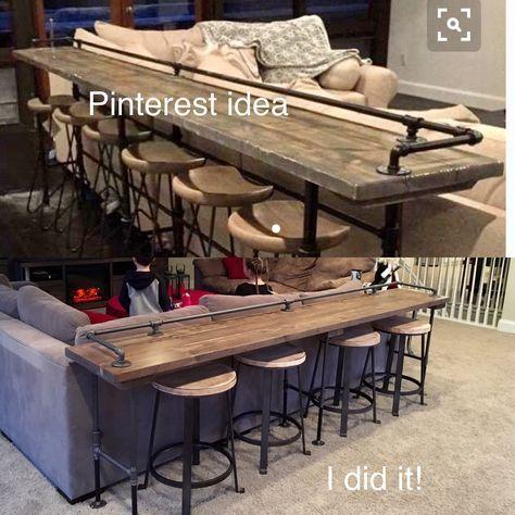 Idées de bar de sous-sol pour les petits espaces